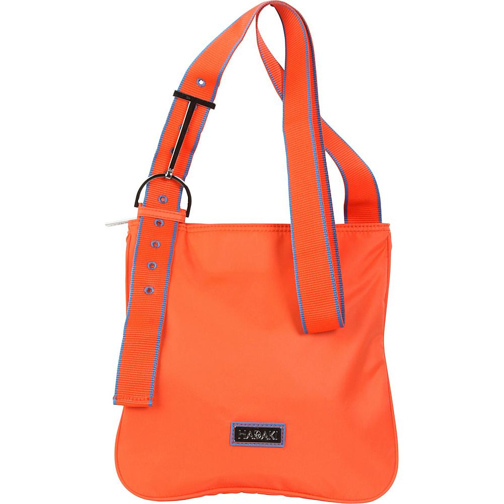 Hadaki Sponge Nylon Scoop Sling Grenadine - Hadaki Fabric Handbags - Handbags, Fabric Handbags