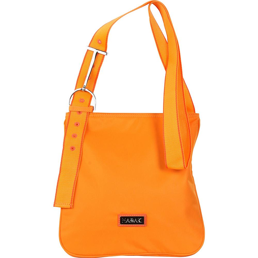 Hadaki Sponge Nylon Scoop Sling Russett - Hadaki Fabric Handbags - Handbags, Fabric Handbags