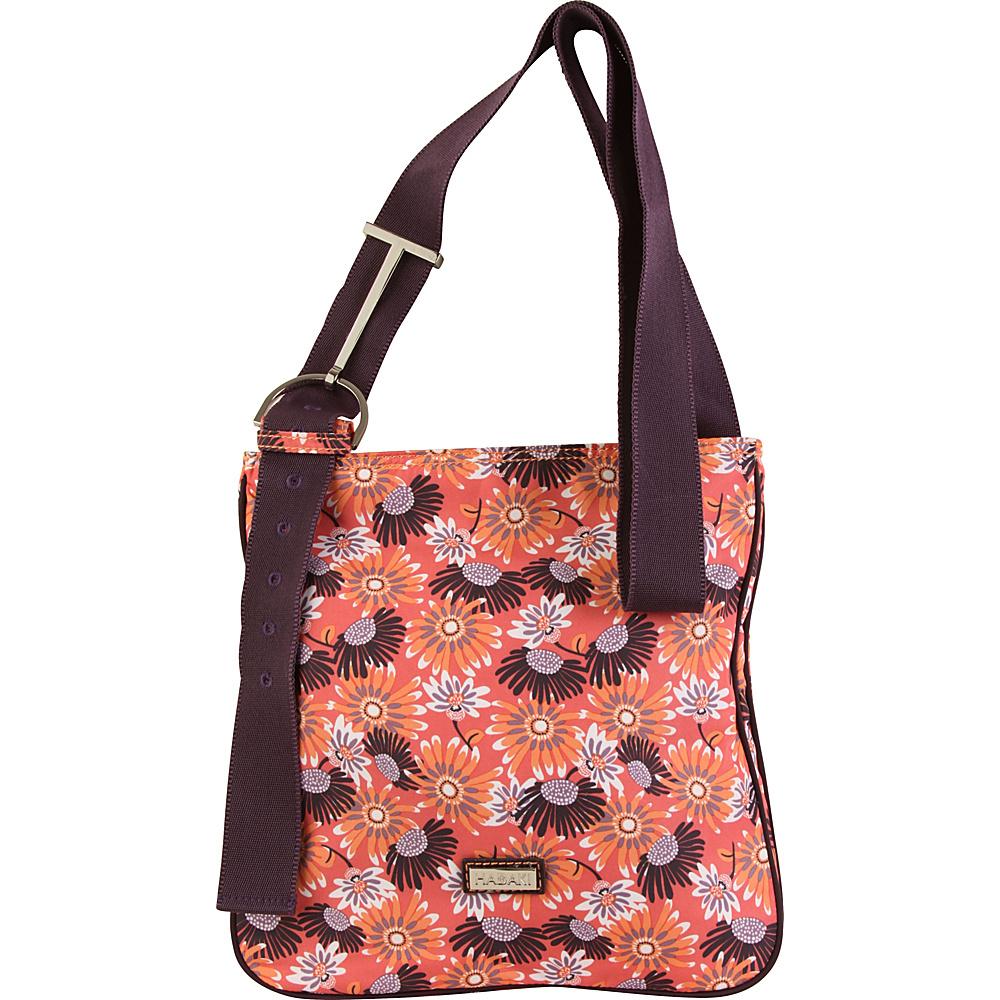 Hadaki Sponge Nylon Scoop Sling Daisies - Hadaki Fabric Handbags - Handbags, Fabric Handbags