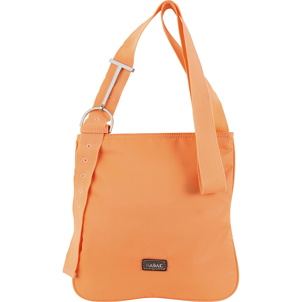 Hadaki Sponge Nylon Scoop Sling Melon Solid - Hadaki Fabric Handbags - Handbags, Fabric Handbags