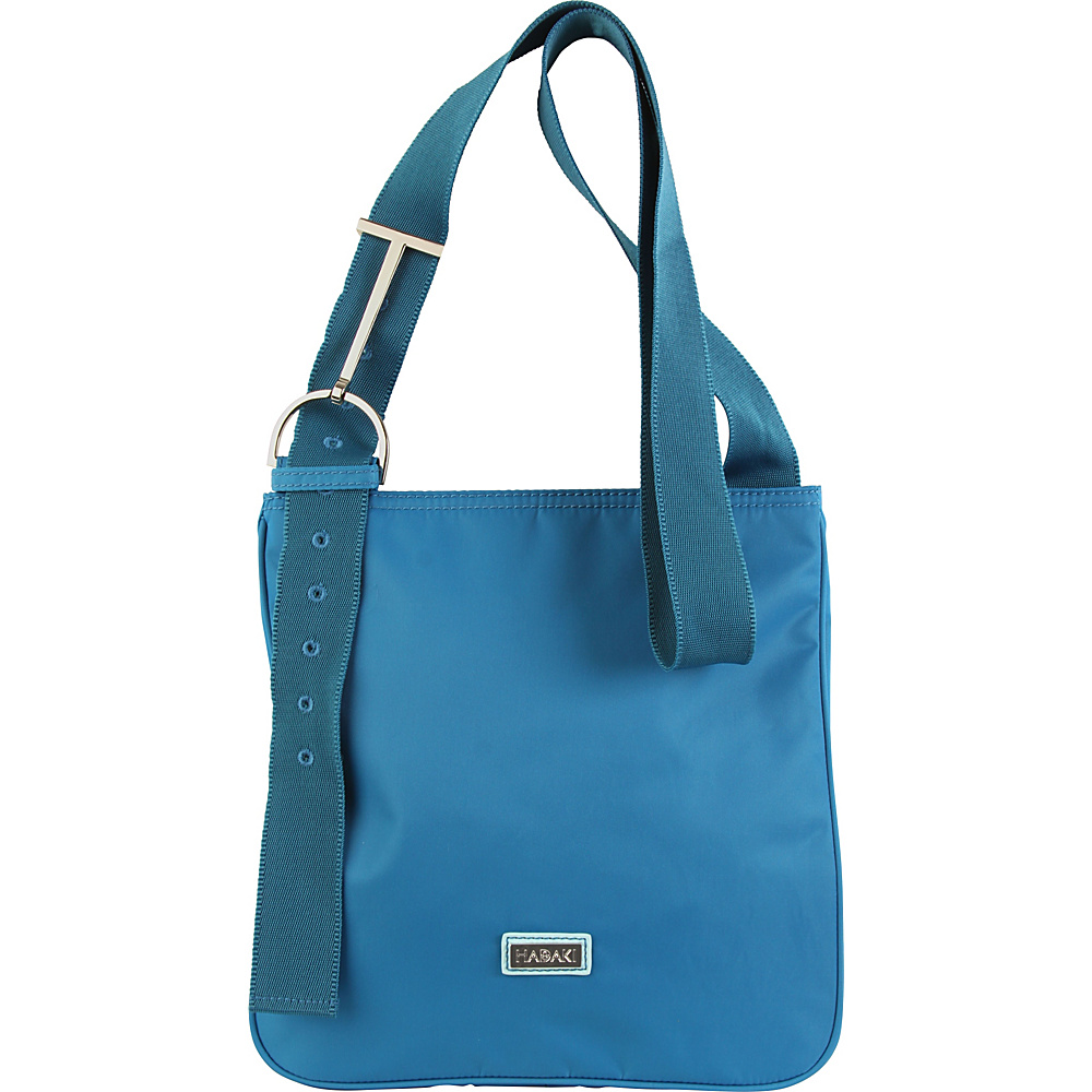 Hadaki Sponge Nylon Scoop Sling Ocean Solid - Hadaki Fabric Handbags - Handbags, Fabric Handbags