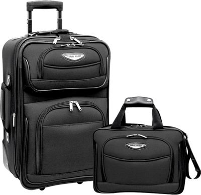 Traveler S Choice Amsterdam 2 Piece Carry On Luggage