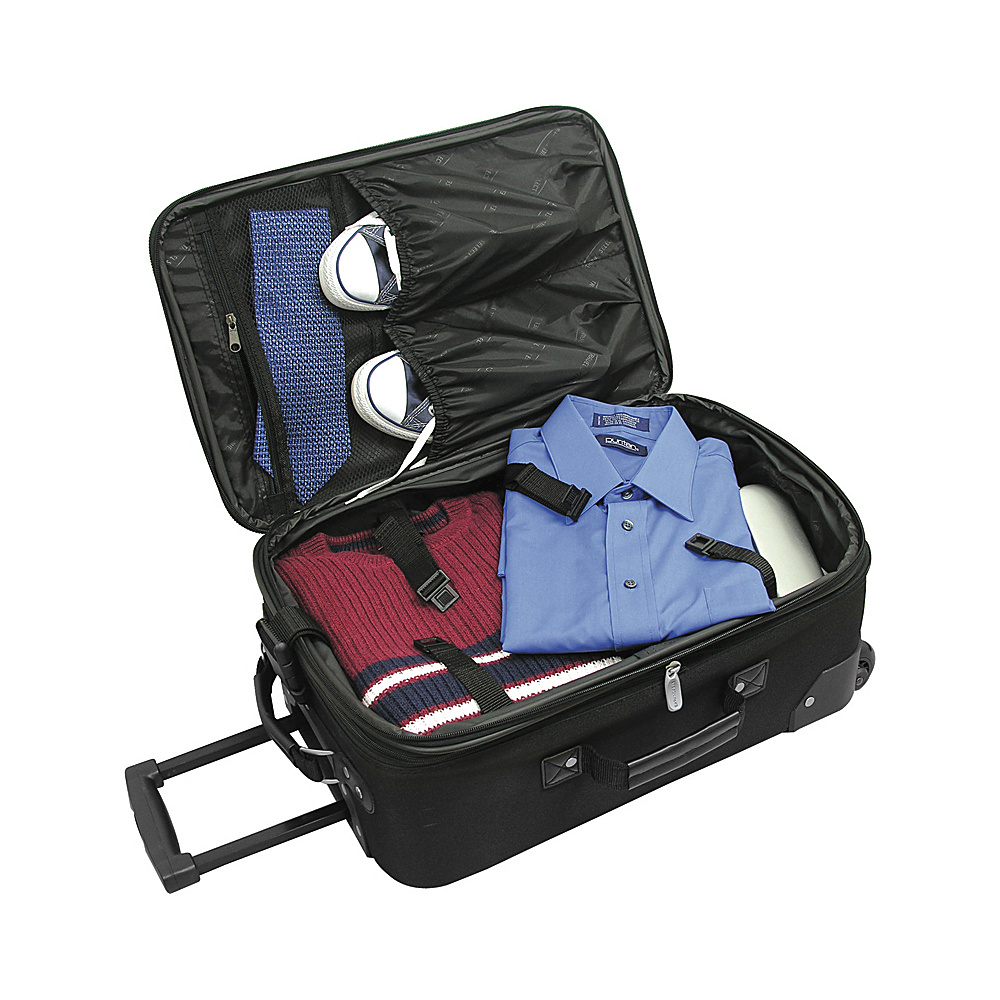 Traveler's Choice Amsterdam 2pc Carry-On Luggage Set -