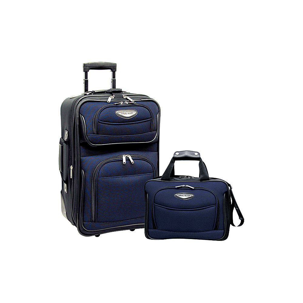 Travelers Choice Amsterdam 2pc Carry-On Luggage Set - - Luggage, Luggage Sets