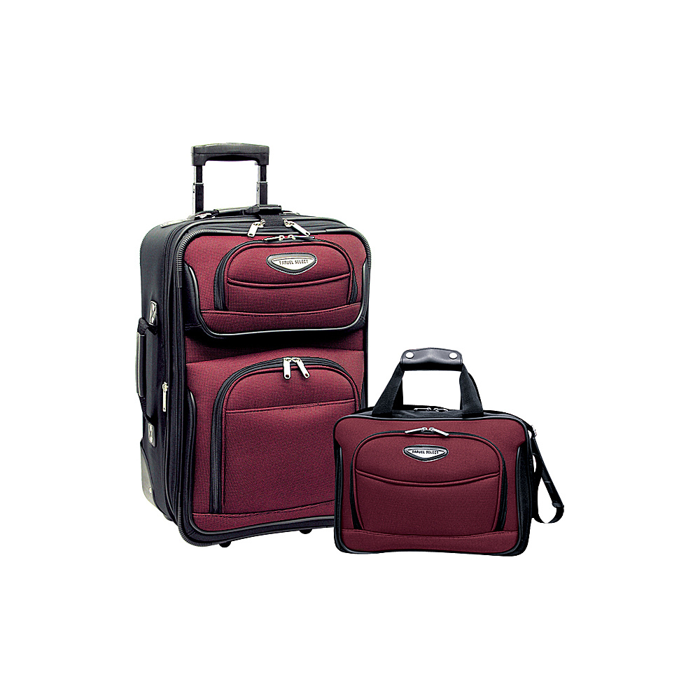 Traveler s Choice Amsterdam 2pc Carry On Luggage Set