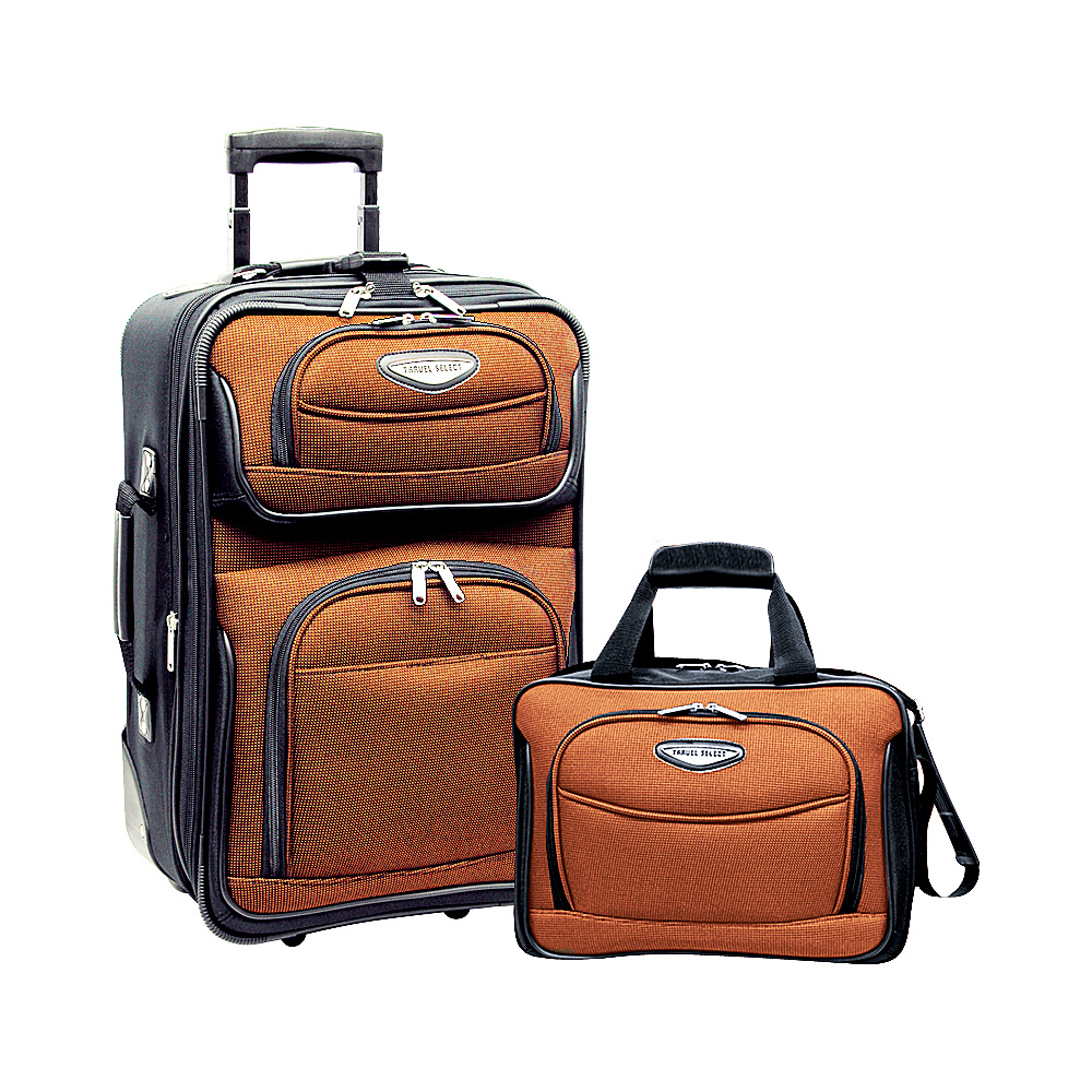 Traveler's Choice Amsterdam 2-Piece Carry-On Luggage ...