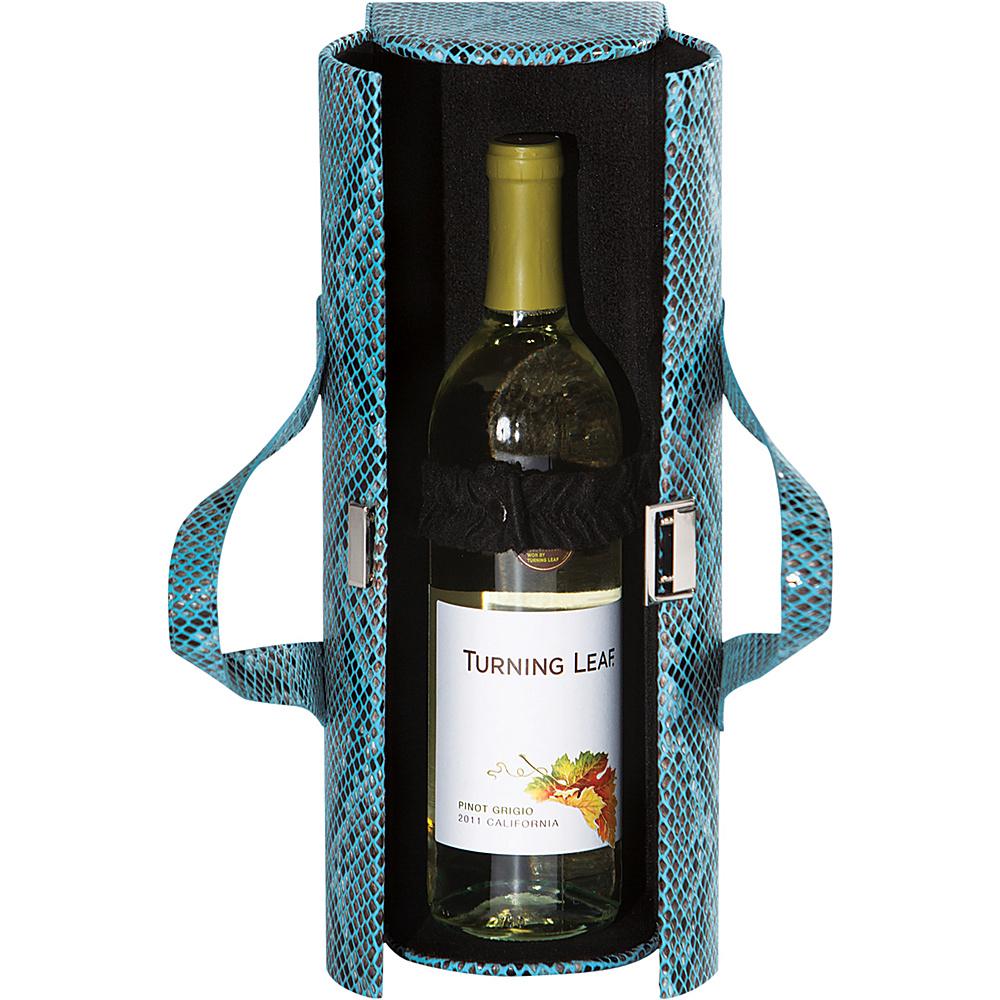 Picnic Plus Carlotta Clutch Wine Bottle Tote - Cheetah