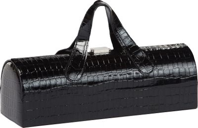 Picnic Plus Carlotta Clutch Wine Bottle Tote - Black