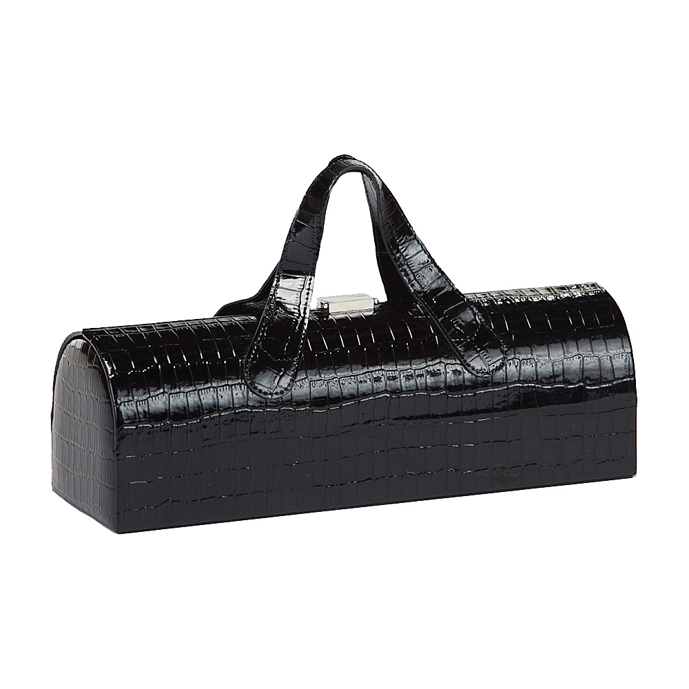 Picnic Plus Carlotta Clutch Wine Bottle Tote Black