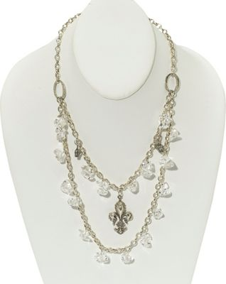 Heather Pullis Designs Sterling Silver 21 inch Chain with Sterling Charms