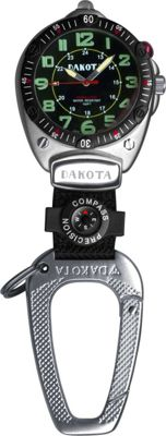 Dakota Watch Company Big Face Clip Watch - Black