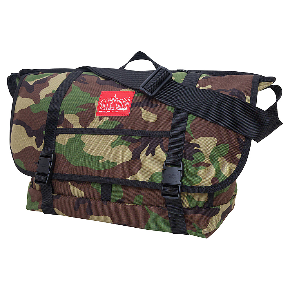 Manhattan Portage New York Messenger Bag (Large) Camouflage - Manhattan Portage Messenger Bags - Work Bags & Briefcases, Messenger Bags
