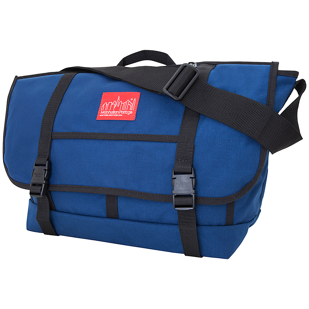 Manhattan Portage New York Messenger Bag (Large) Navy - Manhattan Portage Messenger Bags - Work Bags & Briefcases, Messenger Bags
