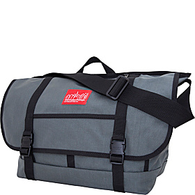 New York Messenger Bag (Large) Gray