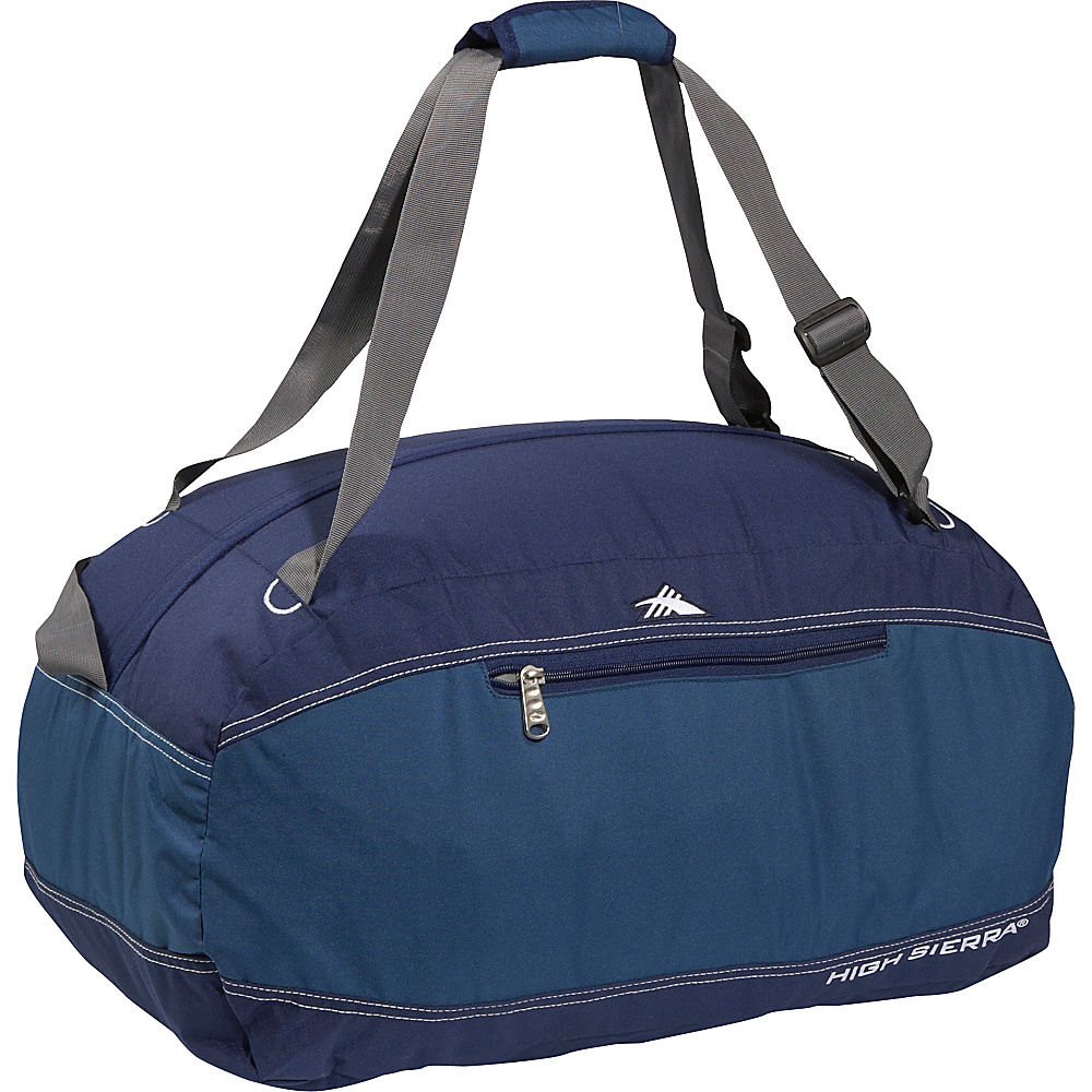 High Sierra Pack N Go 24 Duffel BlueVelvet Pacific High Sierra Outdoor Duffels