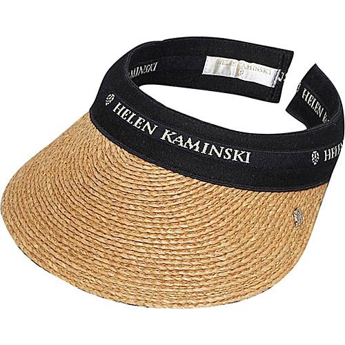 Helen Kaminski Christine Nouget black/wheat logo - Helen Kaminski Hats