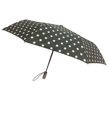 London Fog Umbrellas Auto Open Close Umbrella Dots - London Fog Umbrellas Umbrellas and Rain Gear