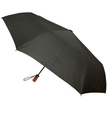 London Fog Umbrellas Auto Open Close Umbrella Black - London Fog Umbrellas Umbrellas and Rain Gear
