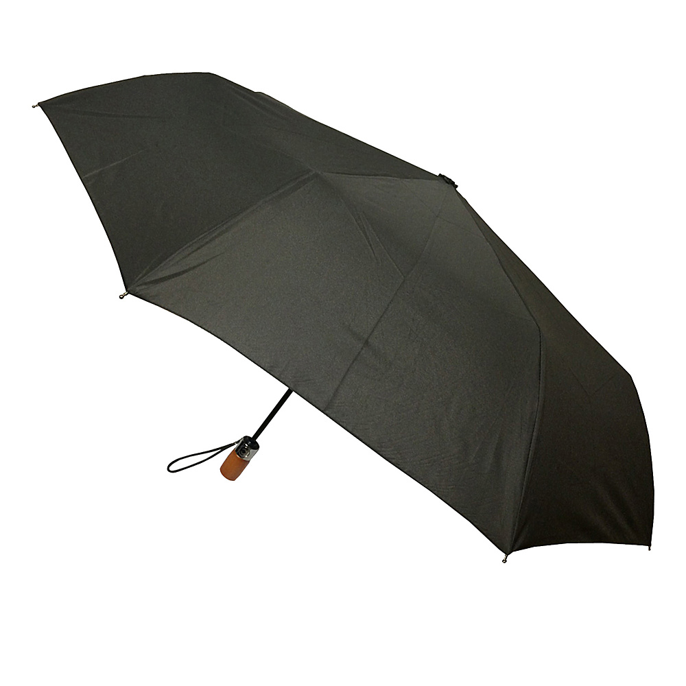 London Fog Umbrellas Auto Open Close Umbrella Black London Fog Umbrellas Umbrellas and Rain Gear