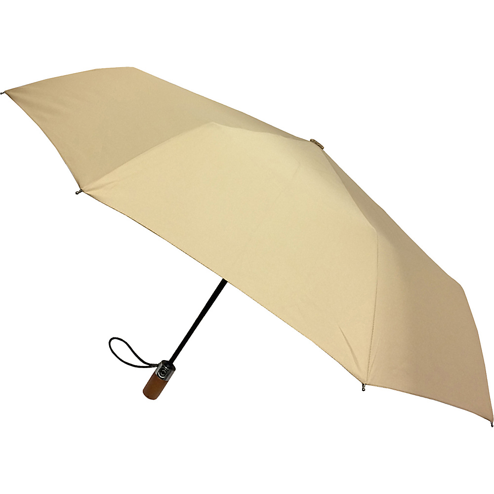 London Fog Umbrellas Auto Open Close Umbrella Desert - London Fog Umbrellas Umbrellas and Rain Gear - Travel Accessories, Umbrellas and Rain Gear