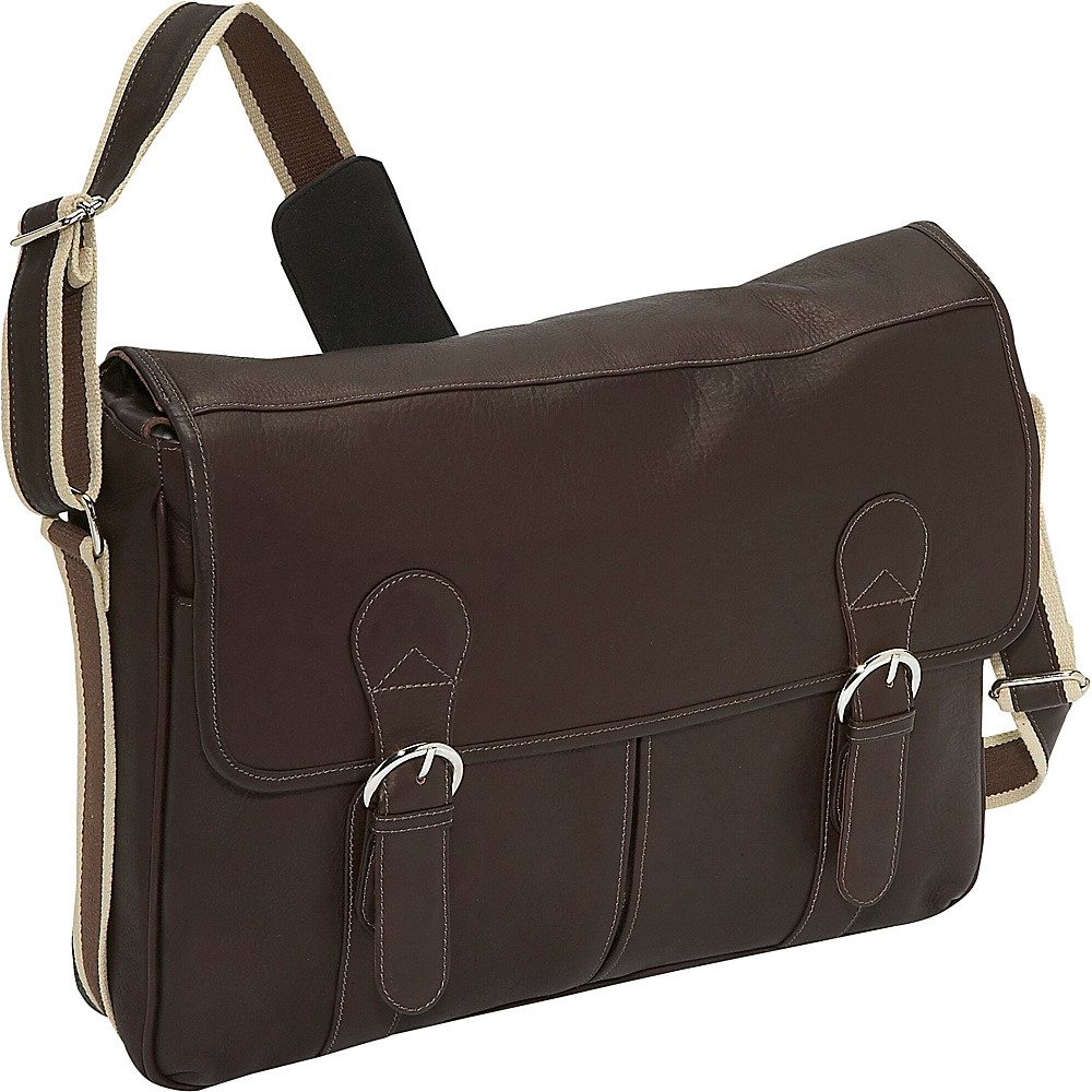 Piel Classic Expandable Laptop Messenger Bag - Work Bags & Briefcases, Messenger Bags