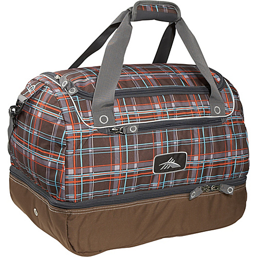 High Sierra Over-Under Cargo Duffel - Mountain Plaid,