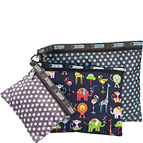 3 Pack Pouch Set Baby Pin Dot Multi