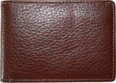 BOCONI Tyler Tumbled Leather Slimster - Coffee