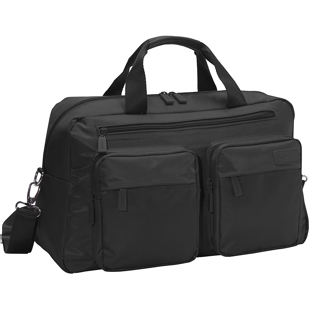 Lipault 19 Weekend Shoulder Bag Black