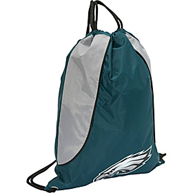 Philadelphia Eagles String Bag Philadelphia Eagles Midnight Green
