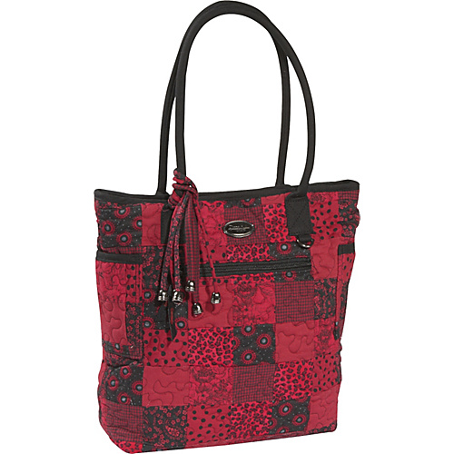 Donna Sharp Tammy Bag, Crimson - Tote
