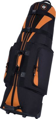 Golf Travel Bags LLC Caravan 3.0 Black/Tangerine - Golf Travel Bags LLC Golf Bags