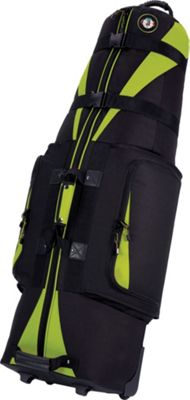 Golf Travel Bags LLC Caravan 3.0 Black/Lime - Golf Travel Bags LLC Golf Bags