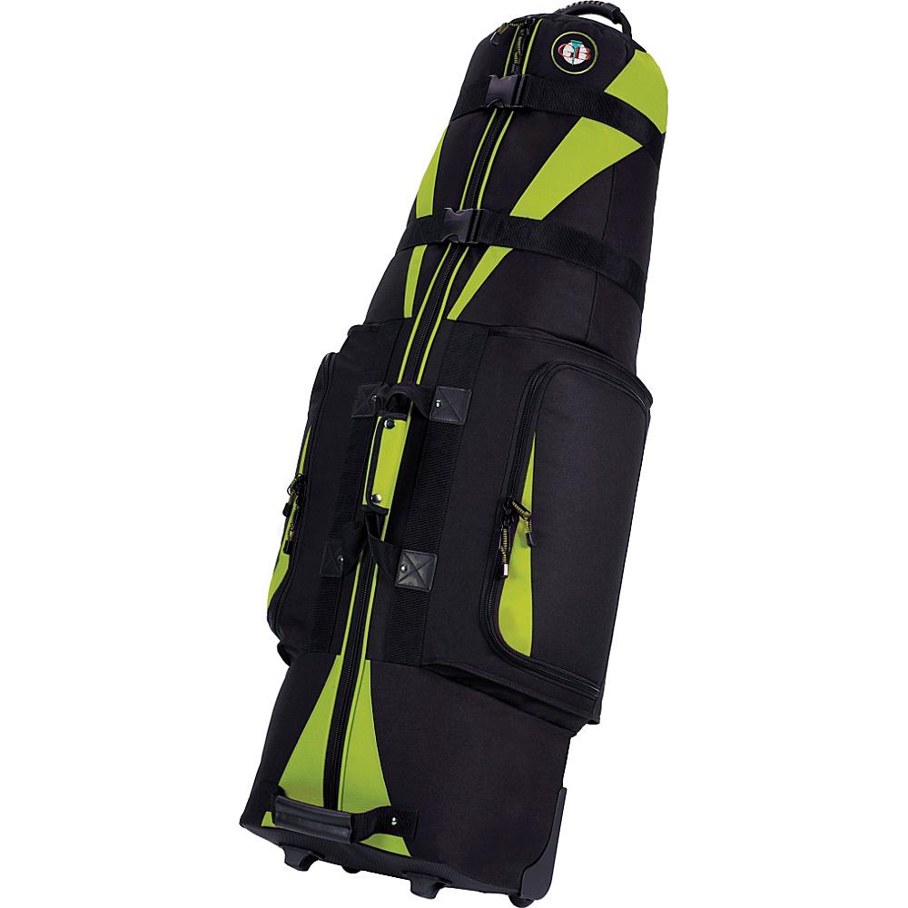Golf Travel Bags LLC Caravan 3.0 Black/Lime - Golf Travel Bags LLC Golf Bags - Sports, Golf Bags