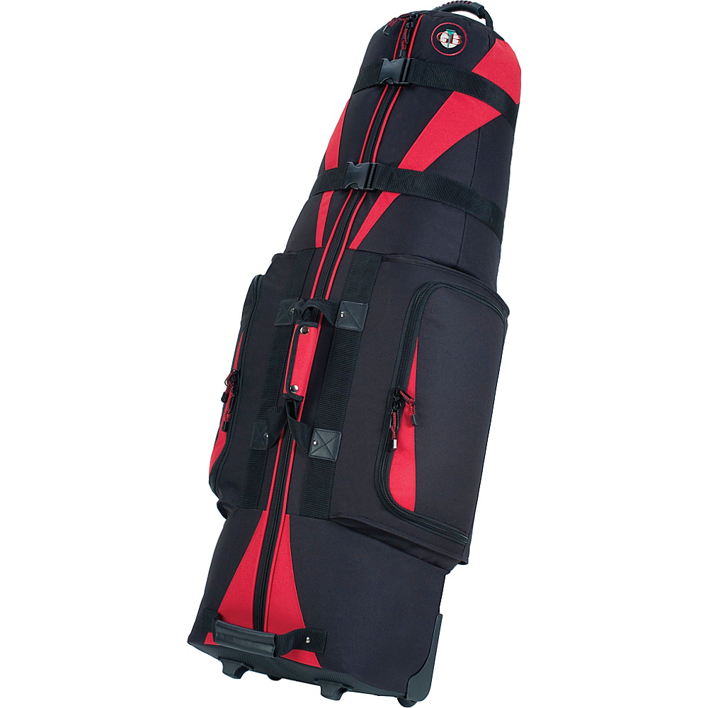 Golf Travel Bags Caravan 3.0 - Black/Red - Sports, Golf Bags
