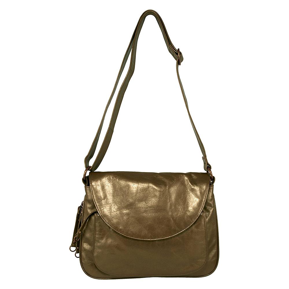 Latico Leathers Mitizi - Mimi in Memphis - Metallic - Handbags, Leather Handbags