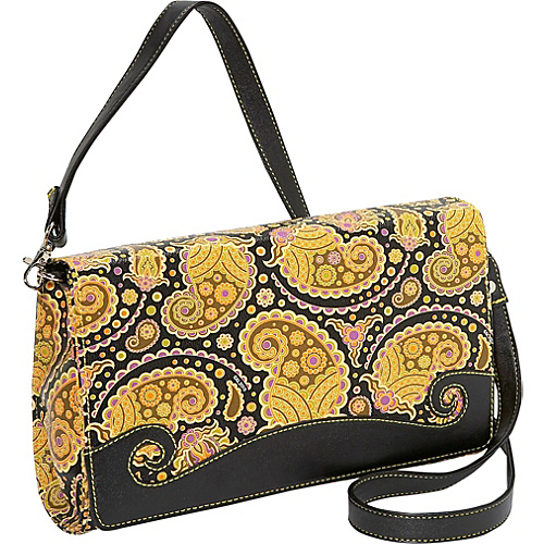 Sydney Love Paisley Convertible Cross Body Clutch
