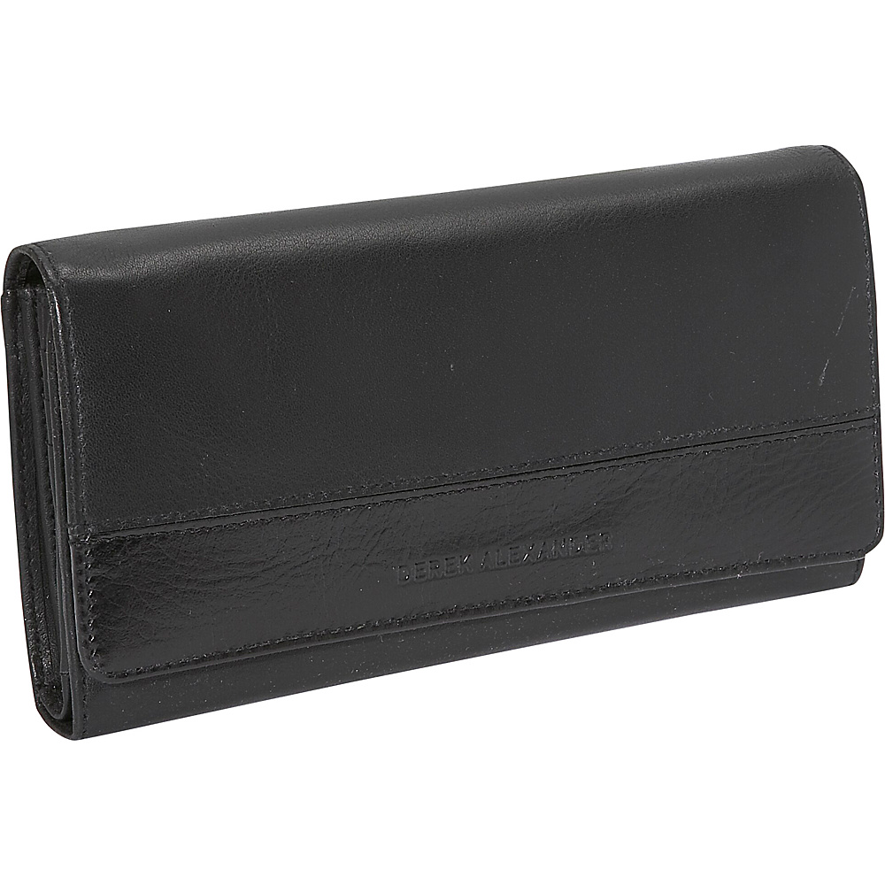 Derek Alexander Multi Clutch - Black/Black - Women's SLG, Women's Wallets