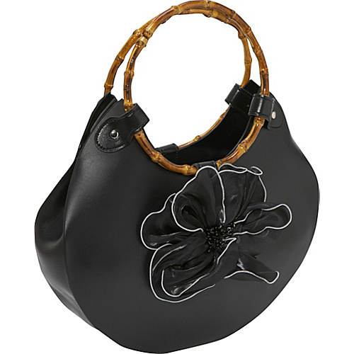 Bamboo 54 Flower Rubber Bag - Shoulder Bag