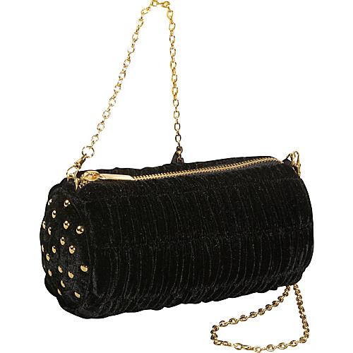 Inge Christopher Svetlana Velvet Crossbody Bag