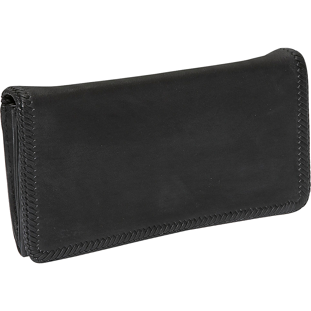 Derek Alexander Large Multi Comp Clutch - Black - Women's SLG, Women's Wallets