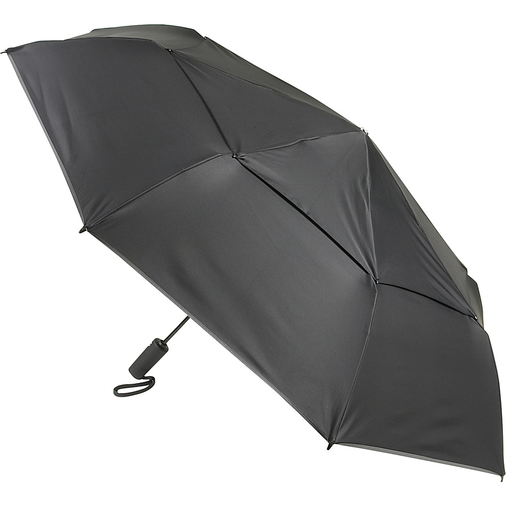 Tumi Mid-Size Auto Close Umbrella - Black - Travel Accessories, Umbrellas and Rain Gear