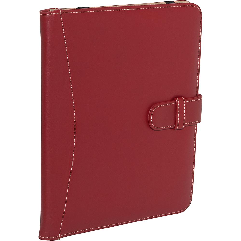 Piel Full Grain Leather iPad Case with Tab Closure