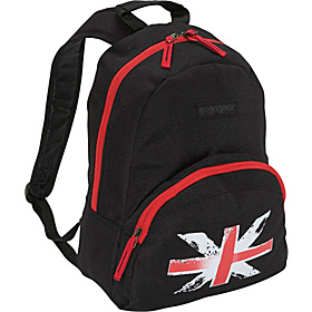 Oliver Backpack Black British Flag