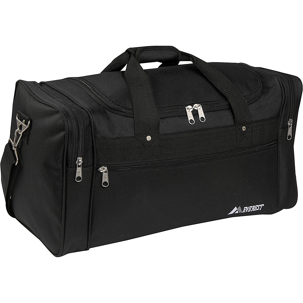 Everest 22 Sports Duffel Bag - Black - Duffels, Travel Duffels
