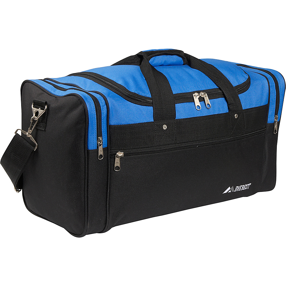 Everest 22 Sports Duffel Bag - Royal Blue/Black - Duffels, Travel Duffels