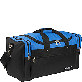 22'' Sports Duffel Bag Royal Blue/Black