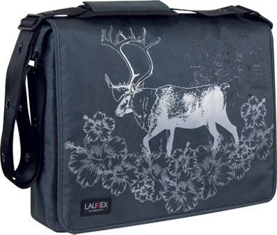 """Laurex 17"""" Laptop Messenger Bag - Gray Elk"""