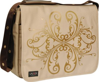 laurex 17quot laptop messenger bag 4 colors womens messenger