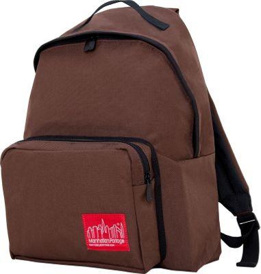 Manhattan Portage Big Apple Backpack Dark Brown - Manhattan Portage Everyday Backpacks